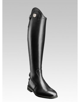 Punched leather RIDING BOOTS Marilyn
