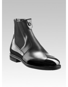 SHORT BOOT patent leather detail Marilyn