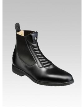 Design front leather SHORT BOOT Harl